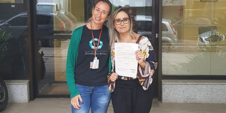 Bancária do Safra é reintegrada através de ação judicial do SindBancários