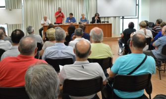 Aposentados do Santander se reúnem na Casa dos Bancários e defendem Banesprev e Cabesp