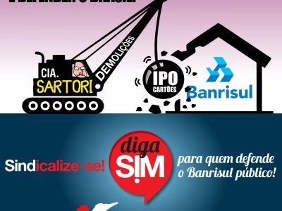 Nova ofensiva jurídica leva até CVM e ao MPJ representação jurídica com pedido de suspensão da venda de ações do Banrisul
