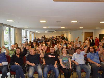 Novos delegados sindicais assumem cargos com a missão de mobilizar bancários para a campanha salarial 2018