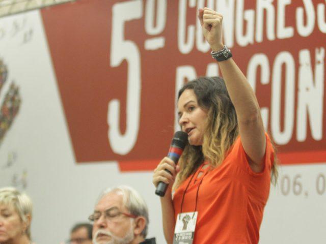 Primeira presidenta da história da Contraf-CUT assume cargo oficialmente