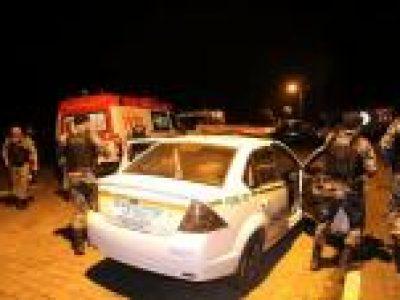 Assaltantes de banco morrem em confronto com a polícia, em Muçum