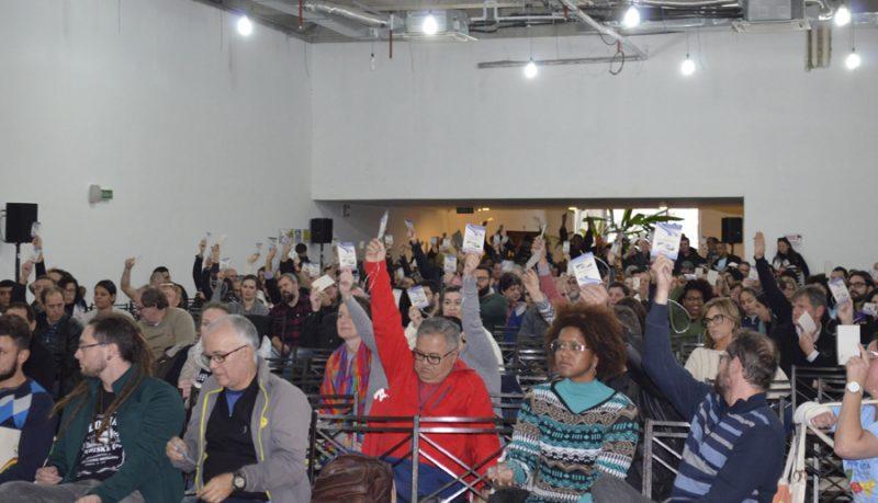 Banrisulenses elegem defesa do Banrisul público como prioridade máxima na Campanha Salarial 2018