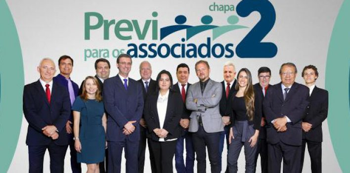 Chapa 2, a representante de fato dos colegas do BB, vence as eleições da Previ