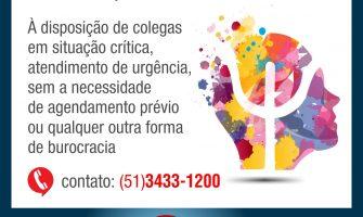 SindBancários passará a ter Plantão de Atendimento Psicológico a partir da quarta-feira, 09/05