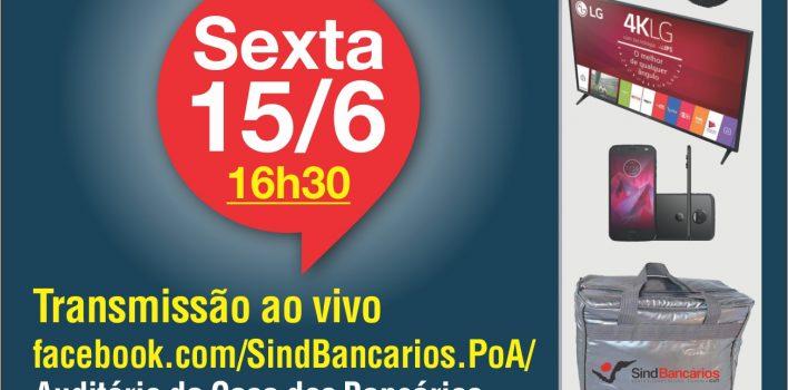 SindBancários realiza sorteio do primeiro lote de prêmios da Campanha de Sindicalização