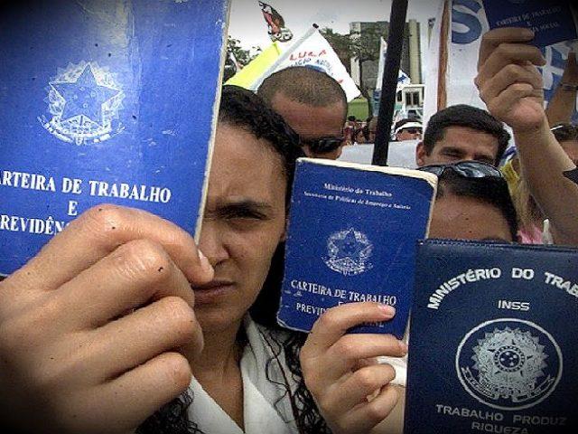 Brasil tem 13,2 milhões de desempregados e aumento da precarizaçã...