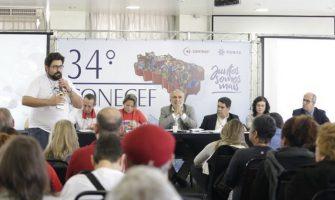 Momento é de resistência! Alerta ecoa na abertura do 34º Conecef, em São Paulo