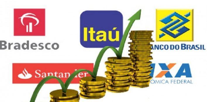 Lucro dos bancos corresponde a 14% do custo do crédito
