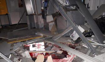 Após promover apagão na cidade, criminosos atacam agência do BB em Canguçu. Outro ataque ocorreu em Maximiliano de Almeida