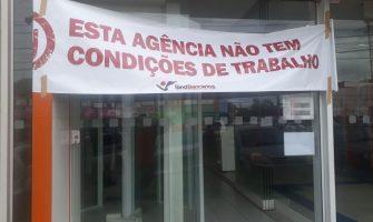 Agência do Bradesco em Gravataí fica fechada após arrombamento no mês em que ataques a bancos crescem 60%
