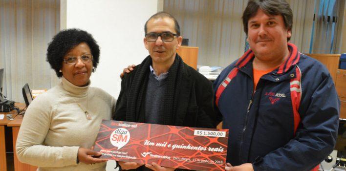 """Bicicleta de ganhador do primeiro sorteio da Campanha de Sindicalização vai ajudar a """"pedalar dívidas"""""""