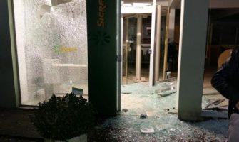 Agência do Sicredi é atacada por criminosos na madrugada desta sexta-feira em Arroio do Padre