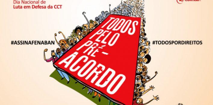 SindBancários segue com caravanas nas agências em movimento nacional de pressão para reunião com Fenaban