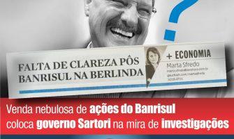 """ZH critica """"falta de clareza"""" na venda das ações do Banrisul, após denúncia do SindBancários"""