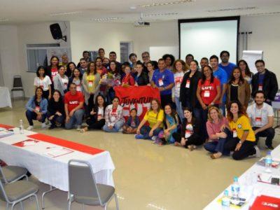 Contraf-CUT participa de 1º Encontro do Projeto Educação Sindical e Organização de Jovens Trabalhador@s no Brasil