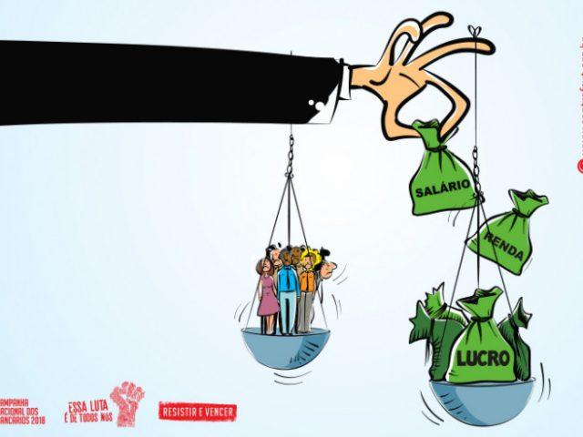 Em 2017, R$ 354,8 bilhões foram transferidos da renda dos trabalhadores ...
