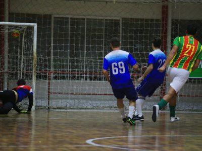 Terceira rodada encaminha classificações à próxima fase nas duas chaves da Copa SindBancários de Futsal 2018