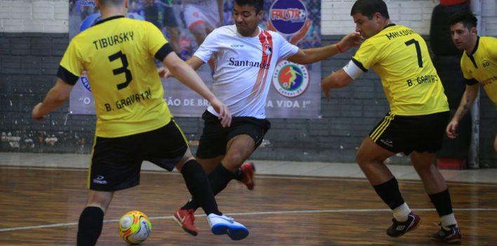 Definidos os jogos das semifinais da Copa SindBancários de Futsal 2018