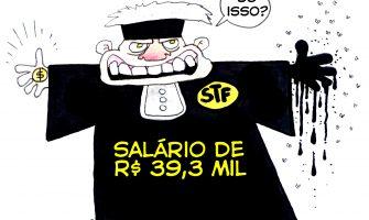 STF se dá aumento de 16,38%