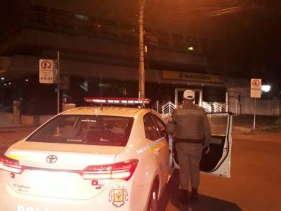 Agência do BB é atacada na madrugada desta sexta-feira na Azenha, em Porto Alegre
