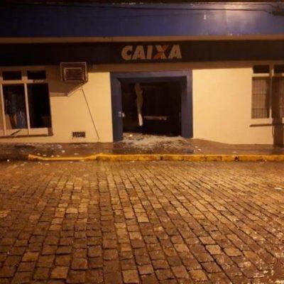 Após assalto a Caixa em Canguçu, no sábado, 11/08, líder de quadrilha é morto em tiroteio