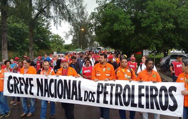FUP avisa que greve dos petroleiros não causará desabastecimento