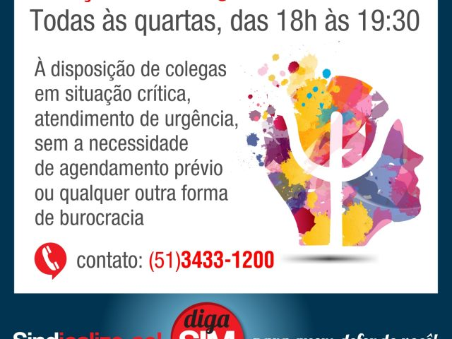 SindBancários passará a ter Plantão de Atendimento Psicoló...