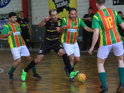 Última rodada da primeira fase decide repescagem e confrontos das quartas de finais da Copa SindBancários de Futsal 2018
