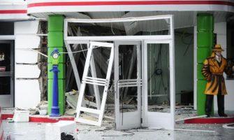 Atacado caixa eletrônico do Banrisul em posto de combustível de S. Sebastião do Caí