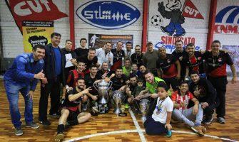 Santander Bairro consolida força no futebol bancário ao conquistar título do futsal 2018