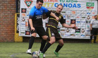 Definidos confrontos dos triangulares que levarão melhores times às semifinais do futebol 7 bancário
