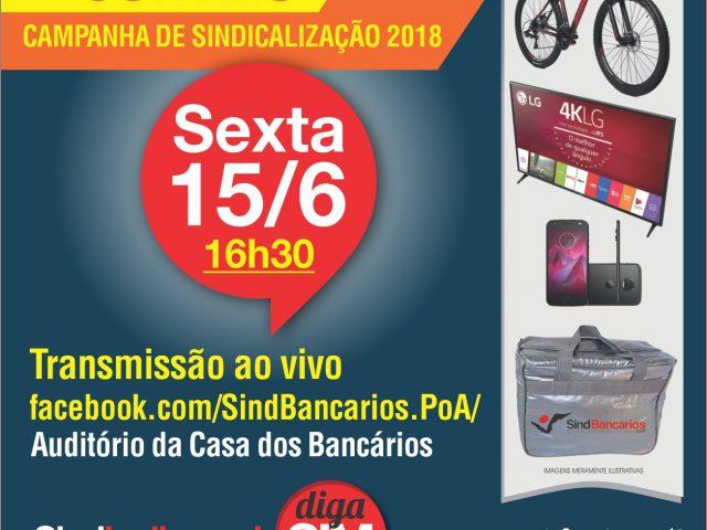 SindBancários realiza sorteio do primeiro lote de prêmios ...