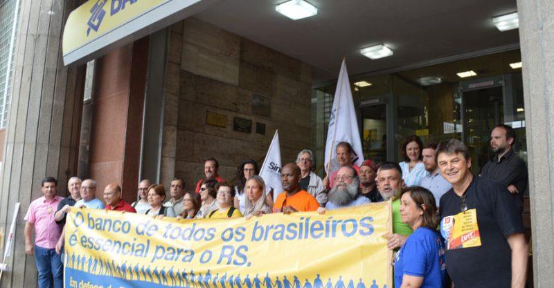 Dirigentes denunciam ataques a direitos dos bancários para entregar o Banco do Brasil e defendem um futuro com caráter público