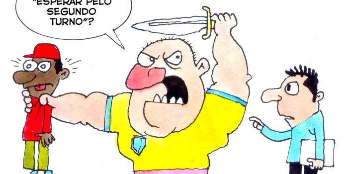 Vantagem de Bolsonaro acirra o ódio dos seus partidários