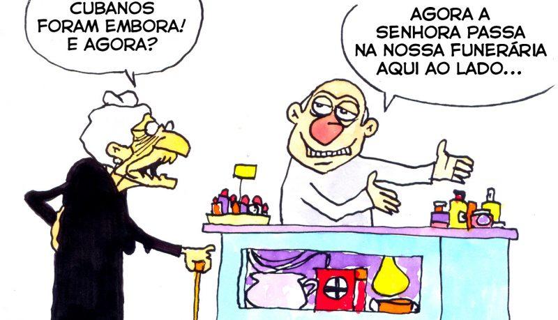 Bolsonaro expulsa médicos cubanos