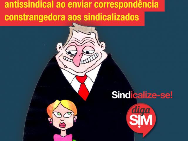 Banrisul adota conduta antissindical ao enviar correspondência constrangedora aos ...