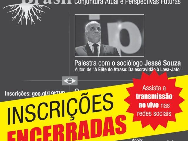 Vagas para palestra do sociólogo Jessé Souza são ...