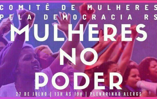Seminário Mulheres no Poder debate pautas feministas e participaçã...