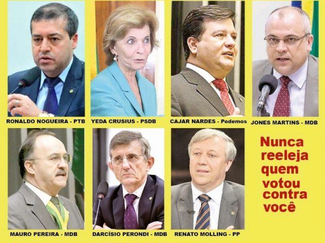 Deputados não reeleitos do RS que aprovaram reforma trabalhista ...