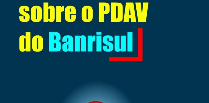 Nota de Esclarecimento da FETRAFI-RS sobre PDAV no Banrisul: Não pactuamos com demissões