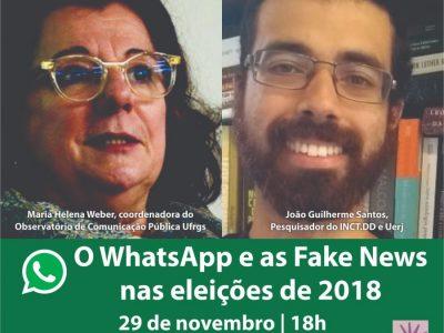 SindBancários sedia painel sobre WhatsApp e Fake News nas eleições 2018 nesta quinta, 29/11