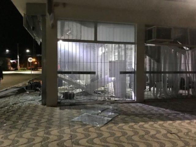 Quatro bancos são atacados no RS durante a madrugada ...