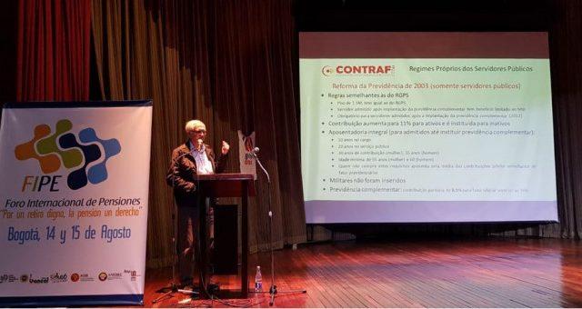 Contraf-CUT participa de Foro Internacional de Previdência na Colô...