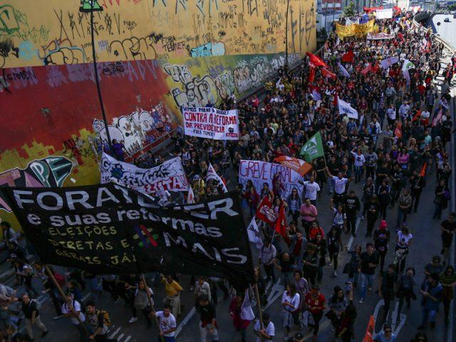 Os três anos de uma greve geral histórica