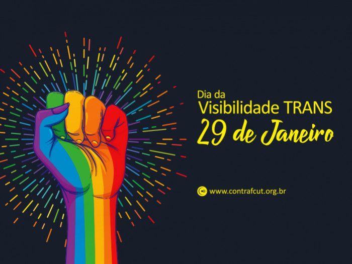 29 de janeiro: Dia da Visibilidade Trans - Sindicato dos Bancários de Porto  Alegre e Região