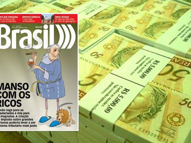 Brasil perde R$ 4,6 bilhões ao não tributar acionistas ...
