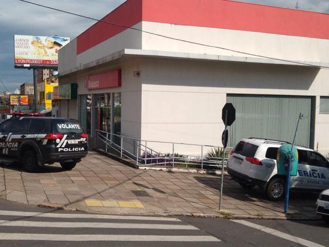 Agência do Bradesco é arrombada em Porto Alegre