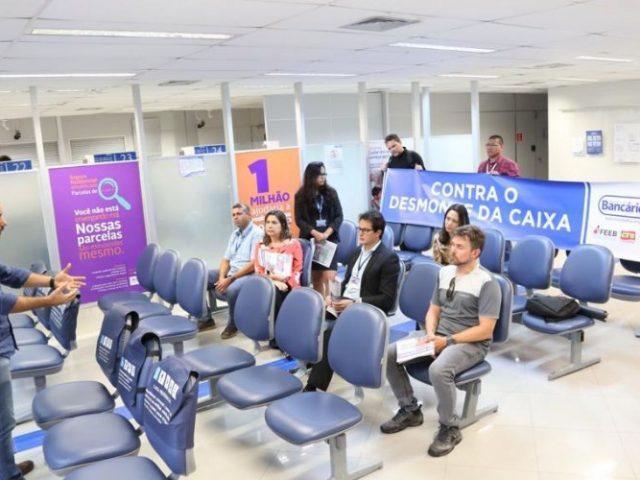 Empregados da Caixa realizaram Dia de Luta contra privatização ...