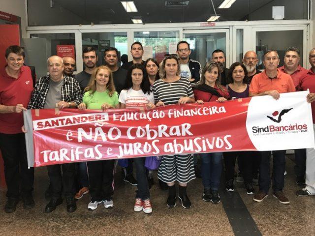 Santander tem que respeitar jornada dos(as) bancários(as)
